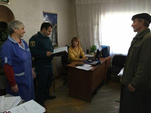 Сотрудники МЧС Зеленчукского района провели внеплановую проверку соблюдения требований пожарной безопасности