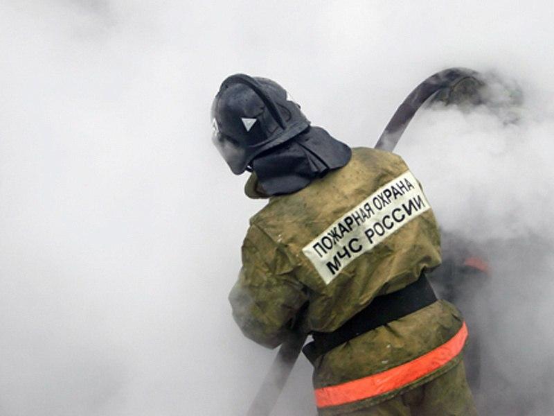 В Даусузе сгорело 40 рулонов сена