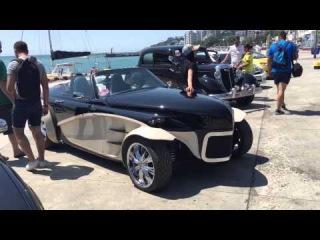 ALPHARD в Ялте Крым Сумасшедший Автозвук DB Drag Racing 05.07.2015
