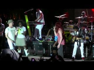Tobymac Jesus Freak Ft. John Cooper, Jen Ledger, Lecrae, and Tedashii live Summer Shed Tour
