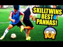 SKILLTWINS BEST NUTMEGS/PANNAS FOOTBALL SKILLS! ★