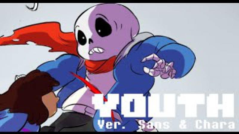 Undertale Youth ver Sans Chara Lyric Comic