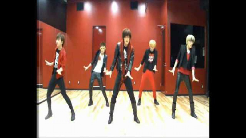 Shinee - Ring Ding Dong dance Mirror.