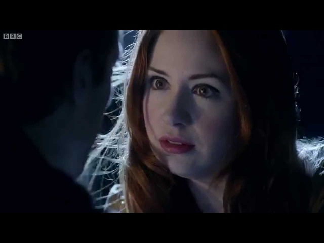 Amy And Rory Jump | The Angels Take Manhattan | Doctor Who | BBC