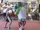 Manny Pacquiao and Steve The Mongoose Quinonez Jr Sparring at