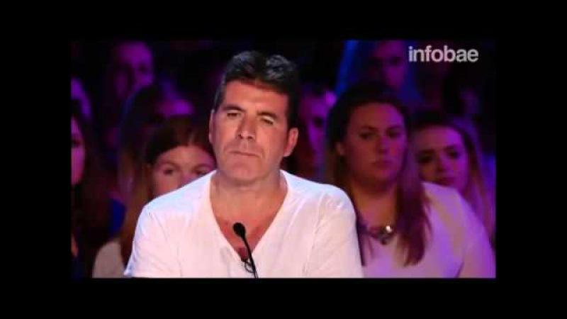 Este es el participante que hizo llorar al implacable Simon Cowell