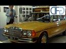 Mercedes 250 T-Modell, 280 SL 450 SLC 5.0 auf der IAA 1977