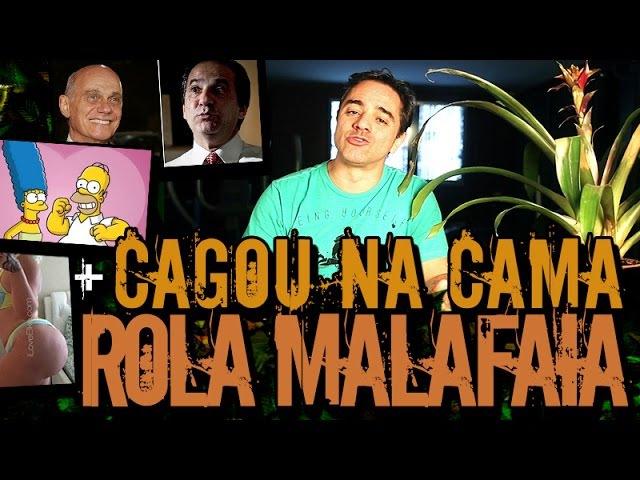 ROLA DO MALAFAIA CAGOU NA CAMA DA NAMORADA   Plantão do Vilela   059