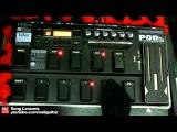 POD XT Live Presets Demo - Line 6 Multi Effects FX Electric Guitar Sounds (U2, Queen, Van Halen)