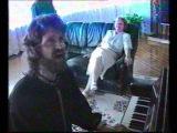 Евгений Юров и Вадим Жуков  (встреча через 20 лет...Мы з 70х Музыканты с танцплощадок!)