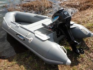 Лодочный мотор Гладиатор Хайди ( HIDEA) 9.9-15. Обзор, обкатка.