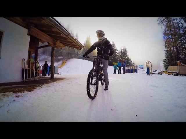 Downhill Riding down a Toboggan Run - Fabio Wibmer