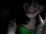 Девушка показывает грудь по вебкамере и показывает трусы