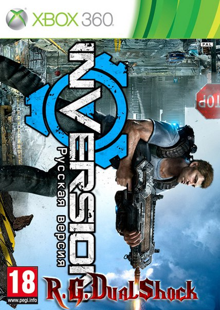 [XBOX360] Inversion [GOD] [Region Free / RUSSOUND] (Релиз от R.G.DShock)