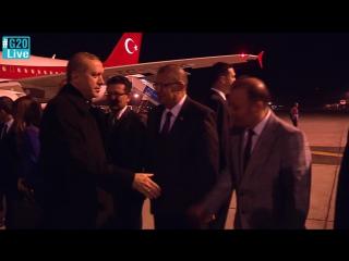 #Turkey President Recep Tayyip Erdogan has arrived in Antalya / #G20