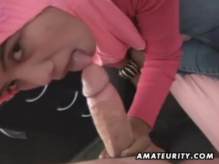 Arab amateurs blowjob and fuck | arab