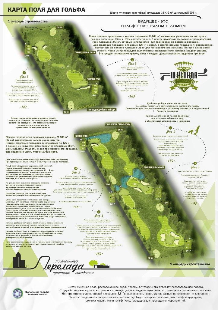 Под Тюменью будет построен гольф-клуб 2