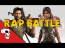 Lara Croft vs Nathan Drake Rap Battle by JT Machinima & Andrea Storm Kaden