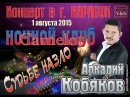 Аркадий Кобяков - Концерт в ночном клубе Camelot. Карасук, 01.08.2015 г.