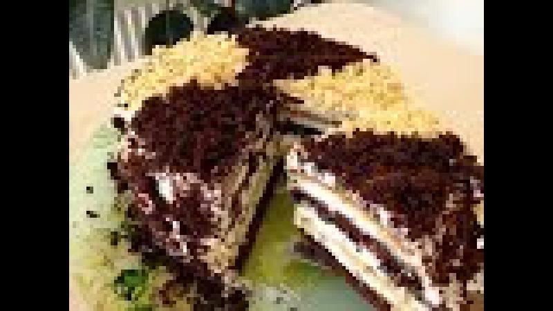Сметанник Торт - Очень Вкусный Рецепт (Сметанный Торт)   Homamade Cake, English Subtitles