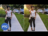 9How To Blur Backgrounds In Photoshop - Shallow Depth of Field Effect Using Lens Bluru89