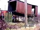Съемки моей любимой 11-летней доченьки Ксюхи: Мы перевозим гараж с одной дачи на другую.