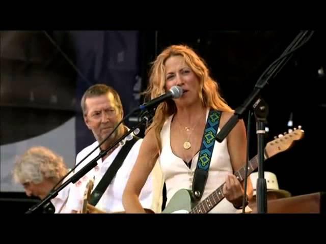Crossroads Guitar festival 2007 Sheryl Crow E Claptom Tulsa Time