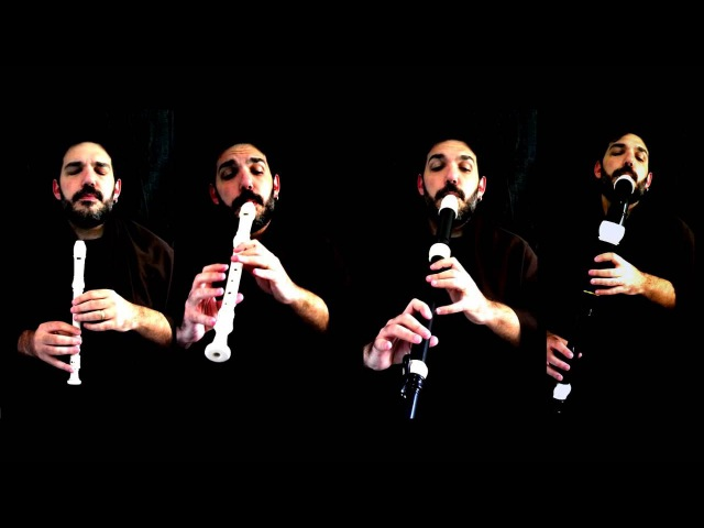 Henry Purcell - Rondo (Rondeau from Abdelazer) - Flute (recorder) Quartet