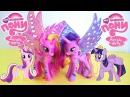 Обзор игрушек: Мой маленький пони Принцесса Каденс и Принцесса Сумеречная Искорка