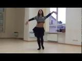 Lana Tigrana восточный танец под Индийскую песню
