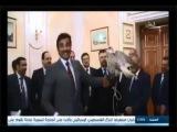 الرئيس الروسي بوتن يهدي امير قطر صقر بمناس&#1
