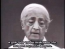 Джидду Кришнамурти отвечает на заданный ему вопрос Кто Вы