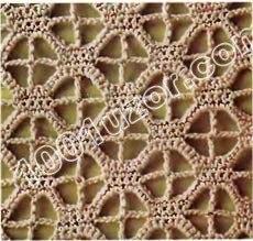Узоры на основе филейной сетки (10 фото) - картинка