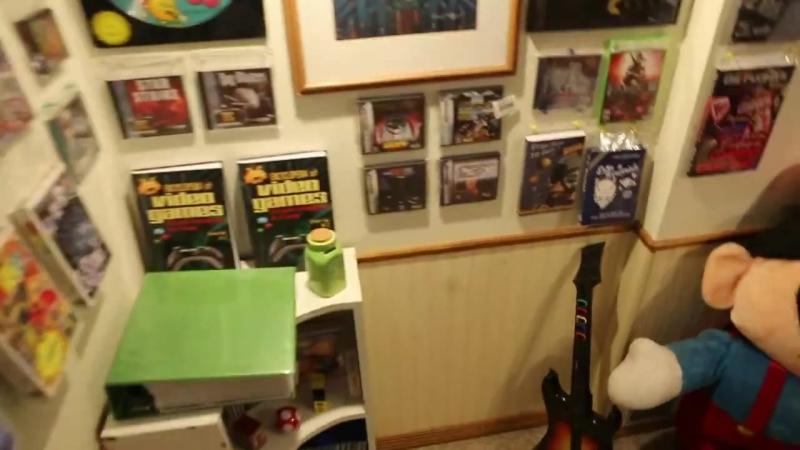 Самоя большая в мире коллекция видеоигр - Майкл Томассон рекорд Гинесса