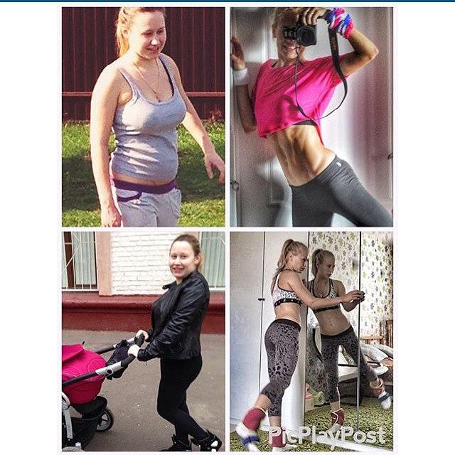 похудеть после родов, спорт после родов, фитнес после родов,