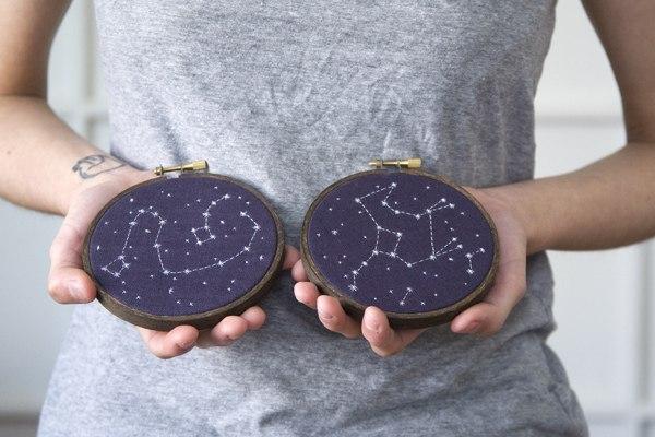 Вышитые созвездия