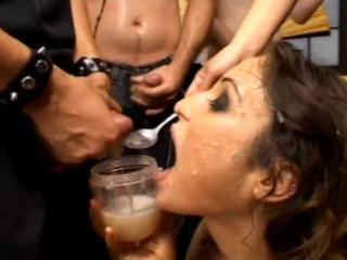 Amber rayne (american gokkun - cum swallow scenes)