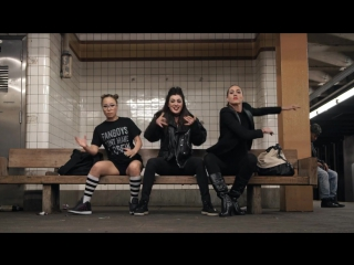 Dassy, Sophie, Marie Poppins Subway Strutting Brooklyn | YAK FILMS