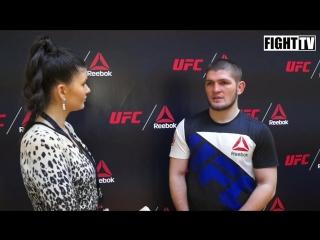 Хабиб Нурмагомедов о сделке UFC и Reebok, российских фанатах ММА, бое с Дос Аньосом и Серроне