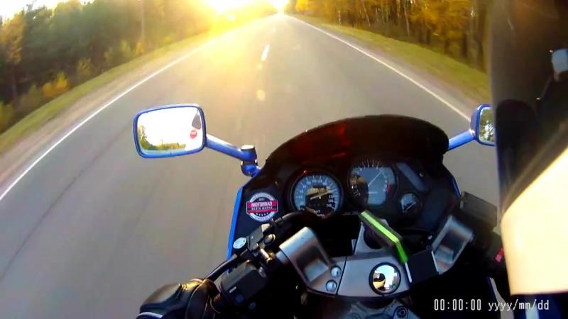 Kawasaki ZZ-R600 Последний рывки сезона. Ноябрь 2015