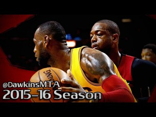 LeBron James vs Dwyane Wade LEGENDS Duel 2016.03.19 - 50 Pts Combined, Wade Reaches 20k Career Pts!