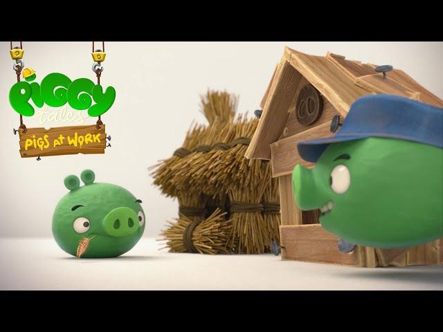 Piggy Tales Pigs at Work Three Little Piggies S2 Ep23