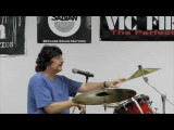 Drummer Video Carmine Appice Teaching Seminar 20092509 - Lamp Shade Cymbal