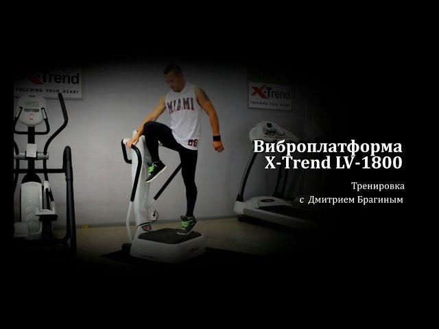 Тренировка на Виброплатформе X-Trend LV-1800