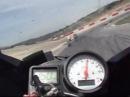 Yamaha R6 2001 à Lédenon 11/07/09