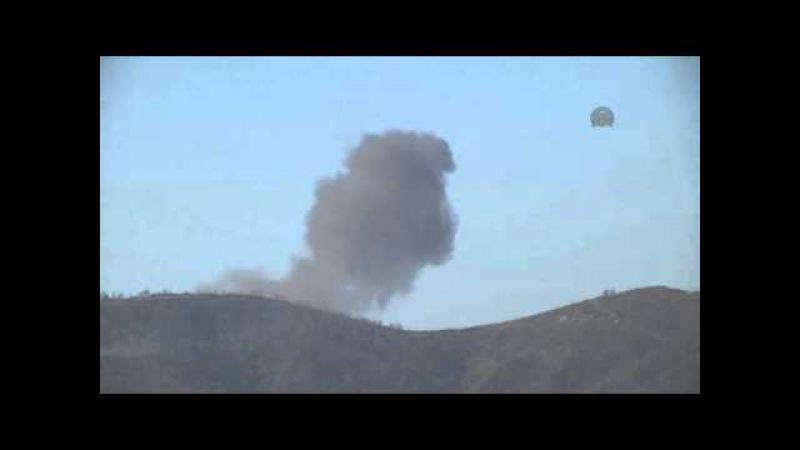 Suriye sınırında düşen uçağın pilotları paraşütle atladı