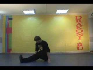 Брейк данс видео обучение - Школа танцев «Драконы» #9