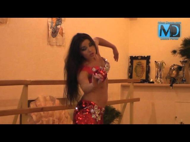 Видео уроки по танцу живота Танец живота с Аллой Кушнир 4