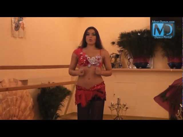 Видео уроки по танцу живота Танец живота с Аллой Кушнир 3