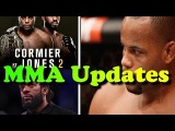 MMA Updates; Cerrone Wants To Beat Up Conor McGregor Outside ; Cormier Doesn't Want Herb Dean As Ref